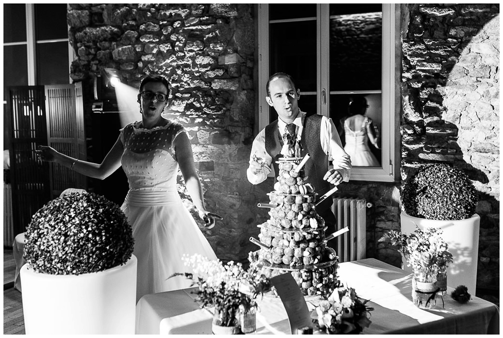 soirée de mariage au domaine de la guérie en normandie