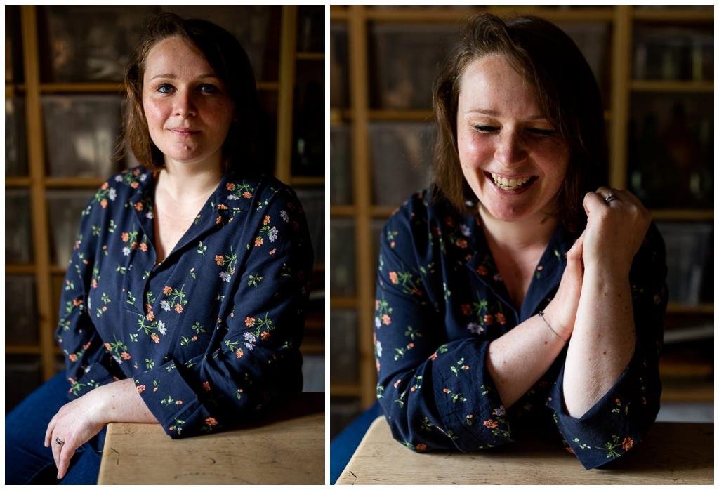 portraits corporate de femme par audrey guyon, photographe corporate en normandie