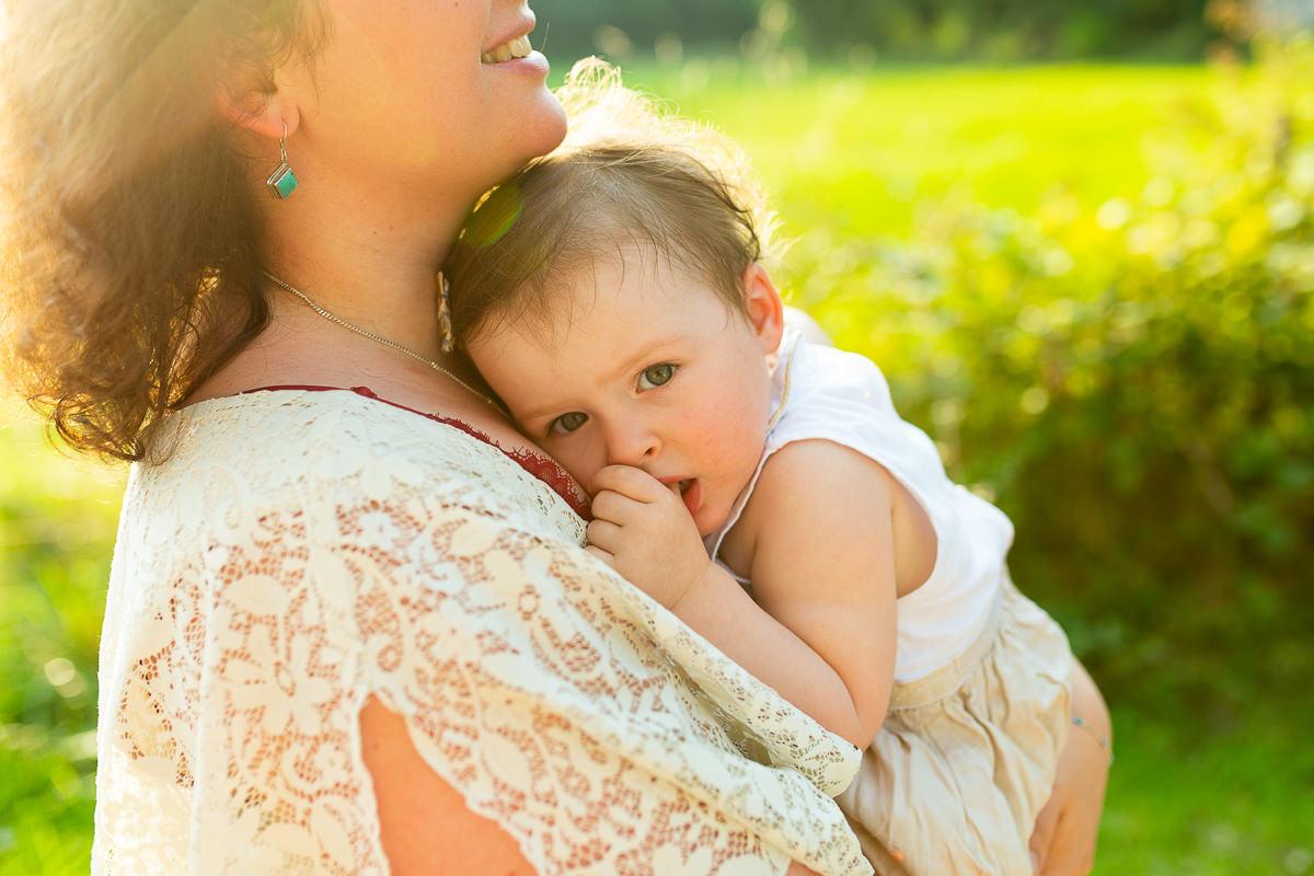 maman et sa fille, photographe famille calvados
