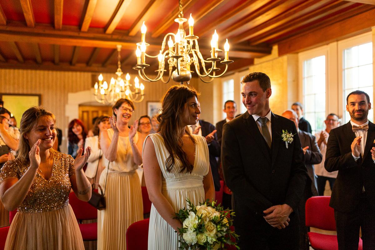 photographe mariage normandie, cérémonie civile en normandie