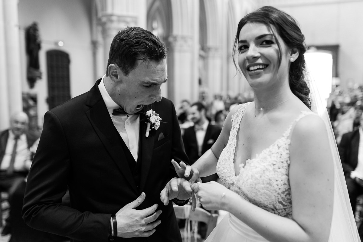 photographe mariage normandie audrey guyon, échange des alliances