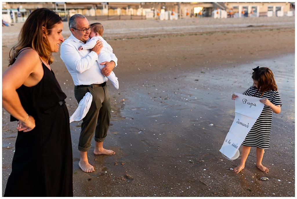 demande en mariage à cabourg, audrey guyon photographe normandie