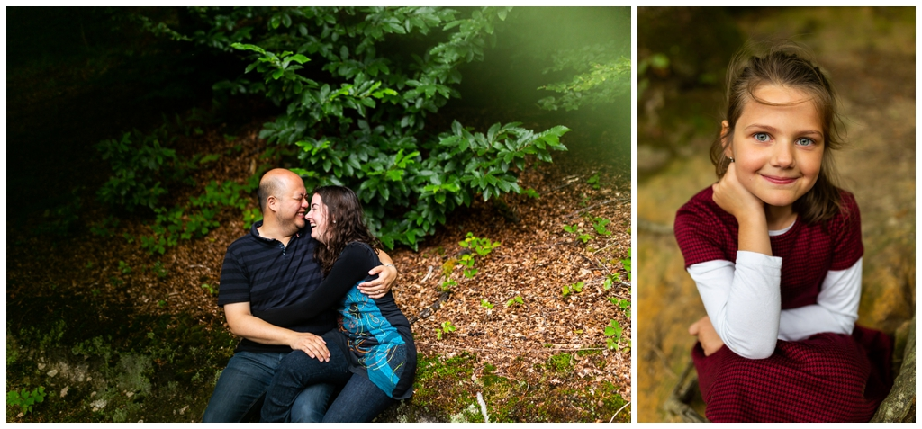 photos de couple et de portrait en foret normande, audrey guyon photographe en normandie