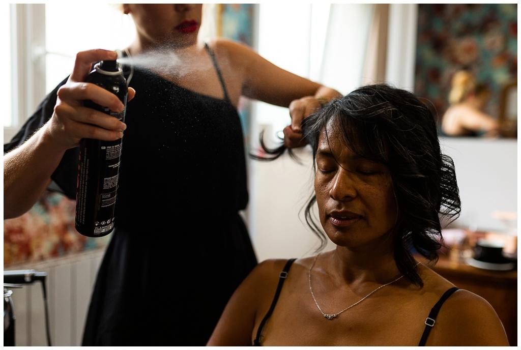 coiffure mariée chez joakim coiffeur barbier près de caen